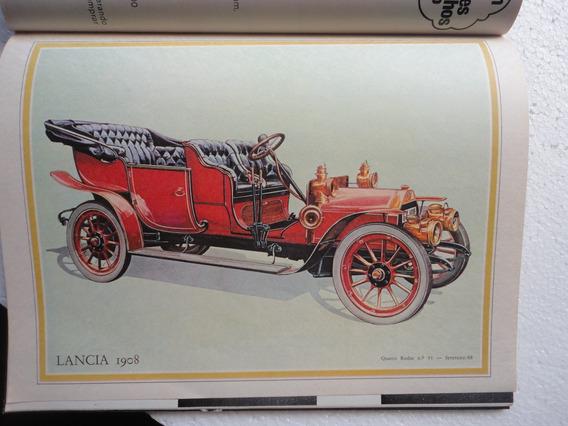 Revista 4 Rodas Antiga 1968 Poster Lancia/galaxie Landau