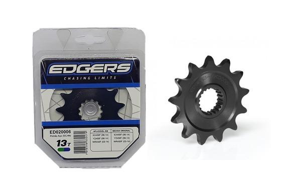 Pinhão Edgers 13t Preto Crf 250/450