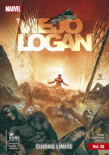 Libro Comic Viejo Logan Ciudad Límite En Español Original