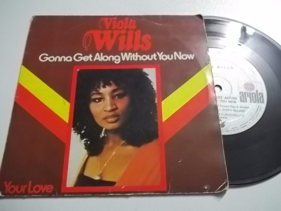 Vinil Compacto Ep - Viola Wills Gonna Get Along Without You