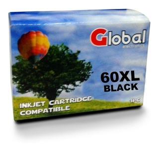 Cartucho Alternativo Para Hp 60 Xl Negro