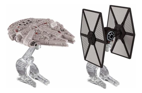 Star Wars Tie Fighter Vs Millennium Falcon Cgw95 Hot Wheels
