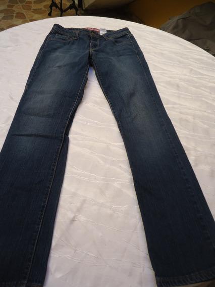 Pantalon Para Damas En Jeans Talla 12 Strech Levis Original