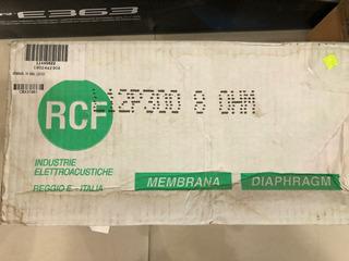 Rcf L12p300 Kit Repuesto Parlante Reconado Membrana