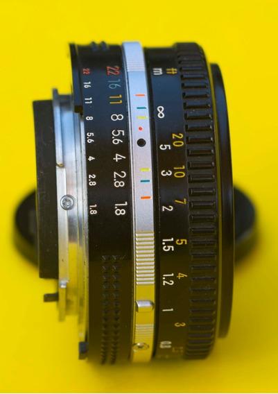 Lente Nikon 50mm 1.8 Pancake Ai S