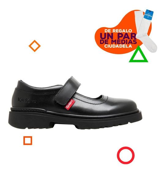 Zapatos Guillermina Kickers Kemos Abrojo De Niños 31 Al 34