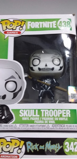 Funko Pop Fortnite Skull Trooper, Original, Casi Sin Usar.