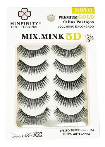 Cílios Postiços Hinfinity Professional Mix Mind 5d