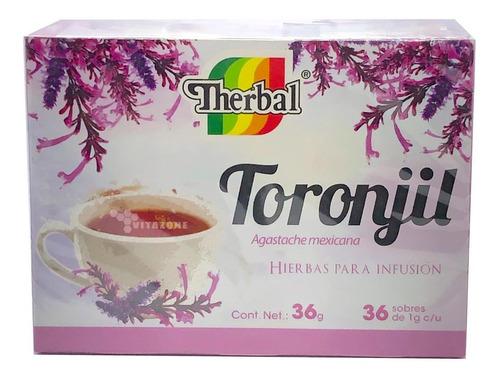 Imagen 1 de 3 de Toronjil Té 36 Sobres Therbal