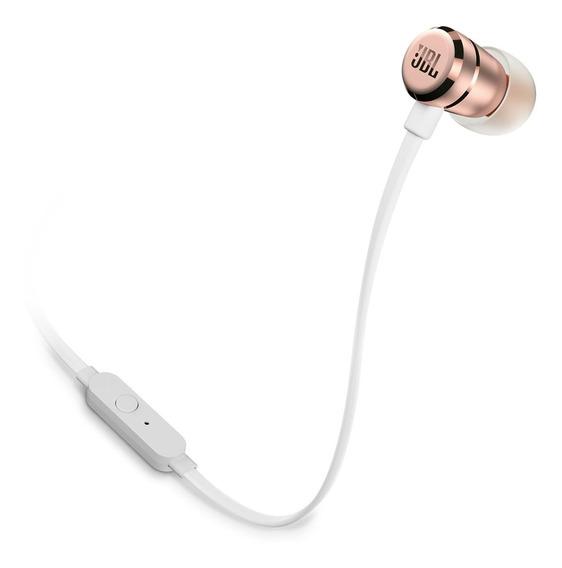 Fone de ouvido JBL Tune T290 rose gold
