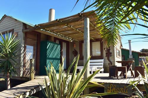 Alquiler Casas Punta Del Diablo Zona Rivero Estufa A Leña
