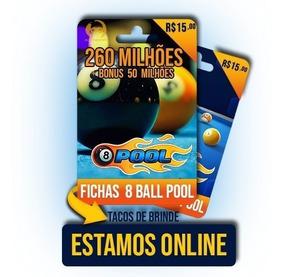 Fichas 8 Ball Pool Miniclip 8 Ball Pool R$15