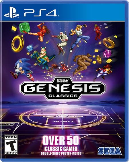Sega Genesis Classics - Ps4 - Novo - Mídia Física Lacrado
