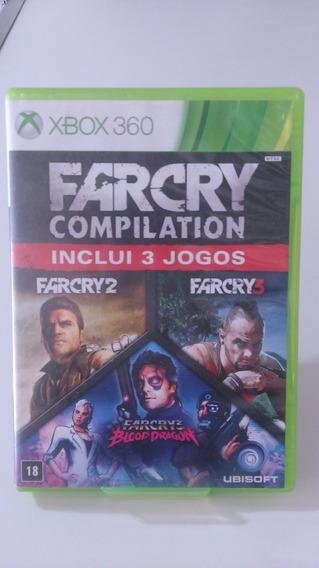 Farcry Compilation Incrui 3 Jogos Original Xbox 360