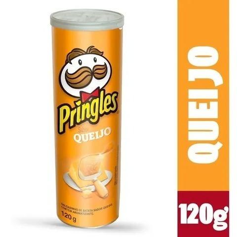 Imagem 1 de 4 de Batata Pringles Sabor Queijo 120g