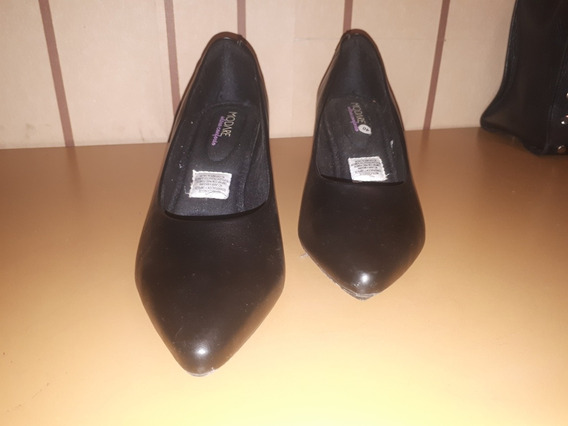 Zapatos De Vestir Stiletos Negros N 40