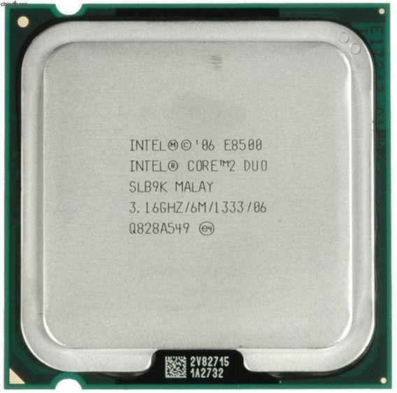 Processador Intel Core 2 Duo E8500 Lga 775 3.16ghz
