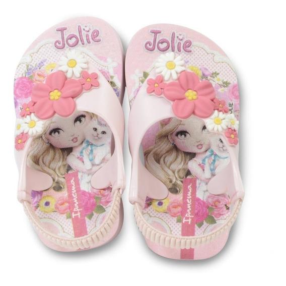 Chinelo Menina De Dedo Infantil Ipanema Jolie 26215