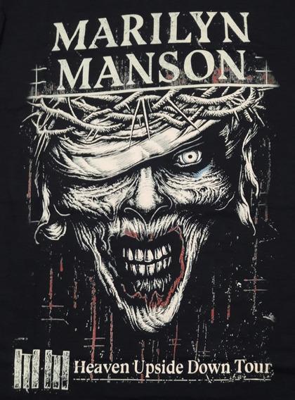 Camiseta Marilyn Manson Horror Chemical Cc2011