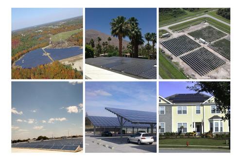Imagem 1 de 8 de Energia Solar Fotovoltaica Baterias Estação De Carregamento