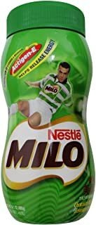 Nestle Milo Chocolate Beverage Mix, 14-ounce Bottles (pack O