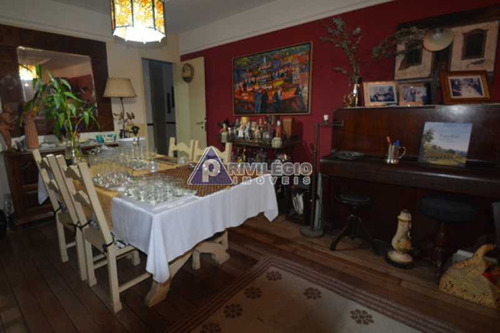 Apartamento À Venda, 4 Quartos, 1 Suíte, 2 Vagas, Laranjeiras - Rio De Janeiro/rj - 21449