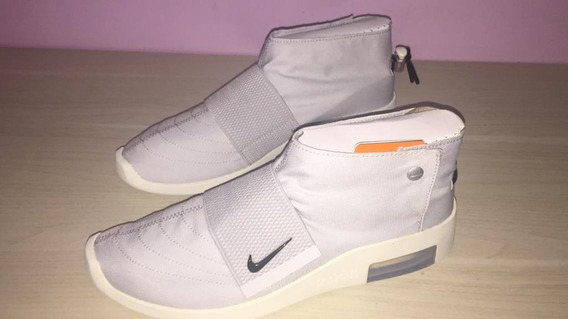 Tenis Nike Air Fear Of God Moccasin Pure Platinum