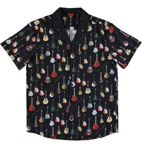 Queen Camisa Oficial Brian May Guitar - Fora De Catálogo