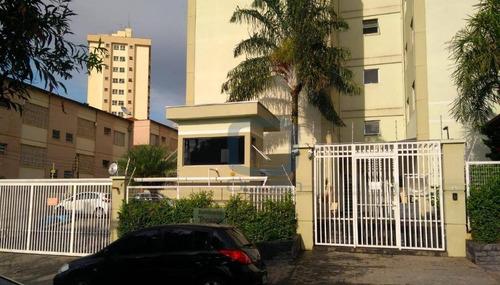 Apartamento Com 2 Dormitórios À Venda, 66 M² Por R$ 240.000 - São Bernardo - Campinas/sp - Ap1120