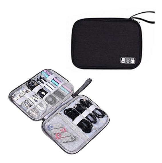 Organizador Cables Viaje Valija Mouse Notebook Usb Pendrive