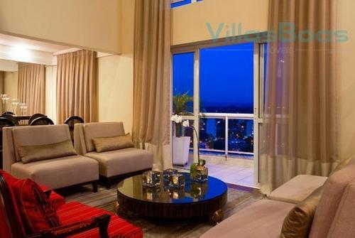 Imagem 1 de 30 de Cobertura Com 3 Dormitórios, 285 M² - Venda Por R$ 1.800.000,00 Ou Aluguel Por R$ 20.000,00 - Vila Ema - São José Dos Campos/sp - Co0052