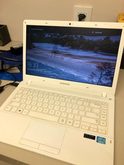 Notebook Samsung Np450r4v Branco