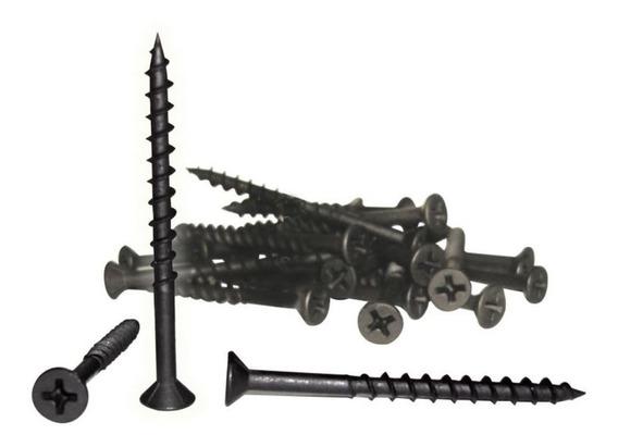 Tornillo Para Madera Veker 6mm X 1-1/4pulg (100 Piezas)
