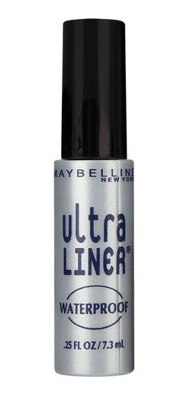 Delineador Líquido Ultra Liner Maybelline Black