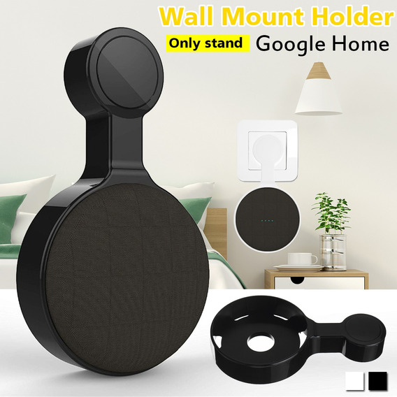 Preto Wall Mount Hoder Apenas Suporte Google Home Mini Hoder