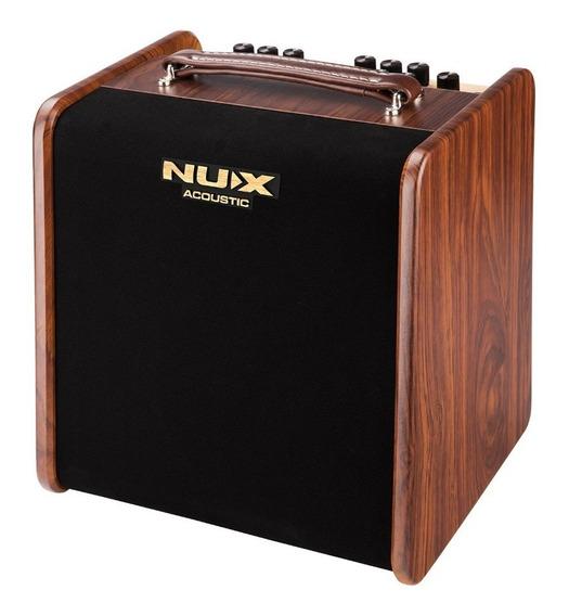 Combo Amplificador Guitarra Acustica Nux Ac-50 50 Watts Fx
