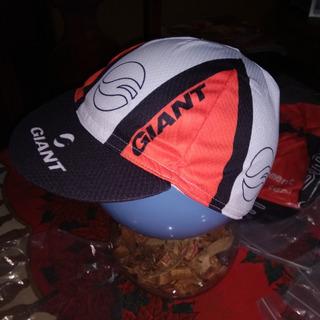 Gorra De Ciclista Logo Giant