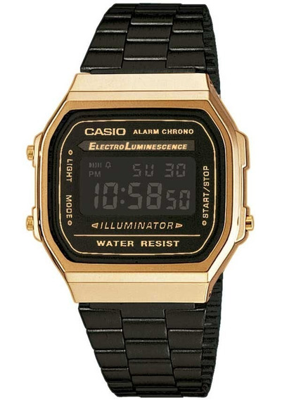 Relógio Casio Original Unissex Vintage A168wegb-1bdf +frete