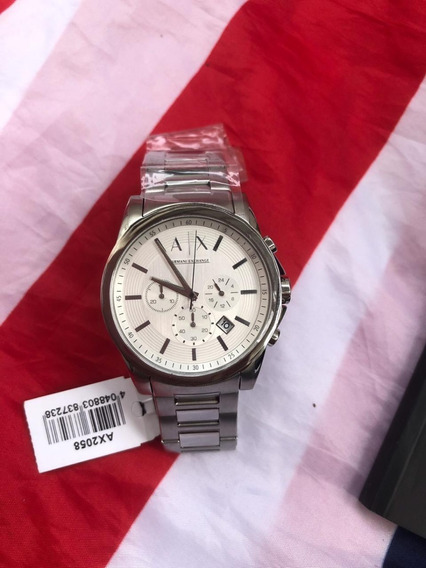 Relogio Original Armani Exchange Prata Ax2058