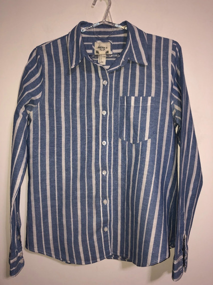 Camisa De Mujer Marca Forever 21 Talle M