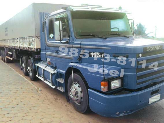 Scania 113 H 360 6x2 97 + Ls Randon Granel 2005