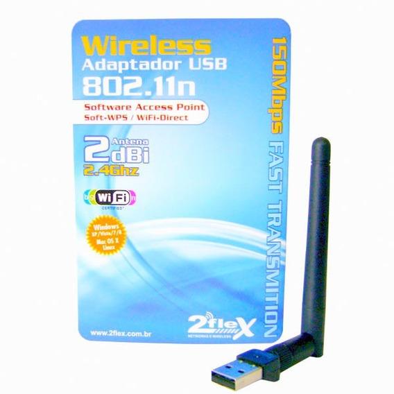 Adaptador Usb Wireless 2flex Access Point 802.11n