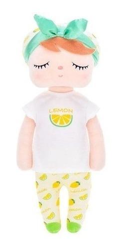 Boneca Metoo Angela Limao Lemon Fruta Decoração Original