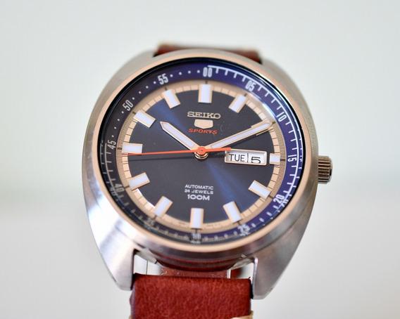 Relógio Seiko 5 Sports Recraft - Srpb23k1 - Automático