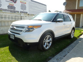 Ford Explorer Limited, Mod. 2011, Color Blanco, ¡de Lujo!