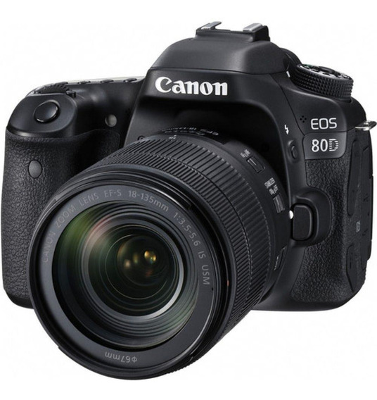 Canon Eos 80d + 18-135mm Is Usm + 50mm F/1.8 Stm + Filtro Nd