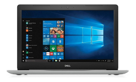 Notebook Dell Ryzen 5 2500u 16gb 1 Tera Placa De Vídeo Integrada Radeon Vega 8 15.6 Full Hd Antirreflexo Prata