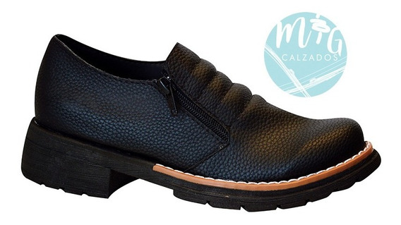 Zapatos Doble Cierre Ideal Art 238 Ajuste Perfecto