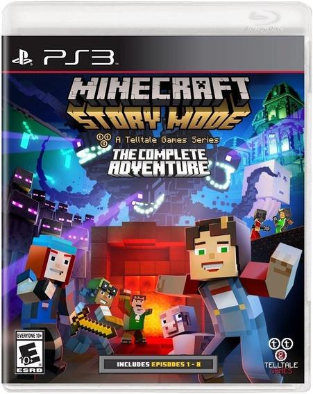 Jogo Minecraft - Story Mode (novo) Ps3
