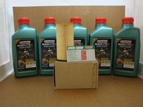 Troca Oleo Jetta 2.0 Tsi 210/211cv 11/14 5w40 50200 + Filtro